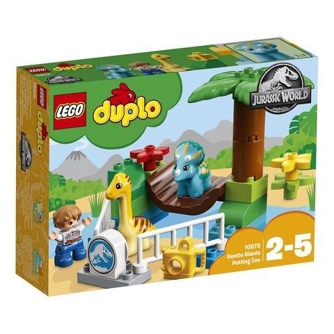 LEGO Duplo: Jurassic World — Парк динозавров 10879 — Gentle Giants Petting Zoo — Лего Дупло Мир юрского периода