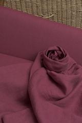 Смягченный лён цвет МАЛИНОВЫЙ