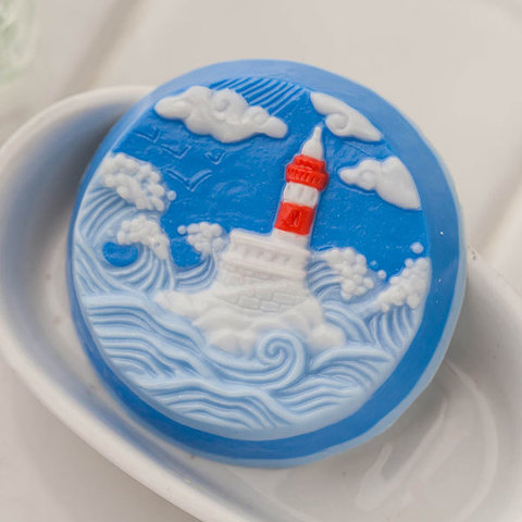 Пластиковая форма для мыла Маяк