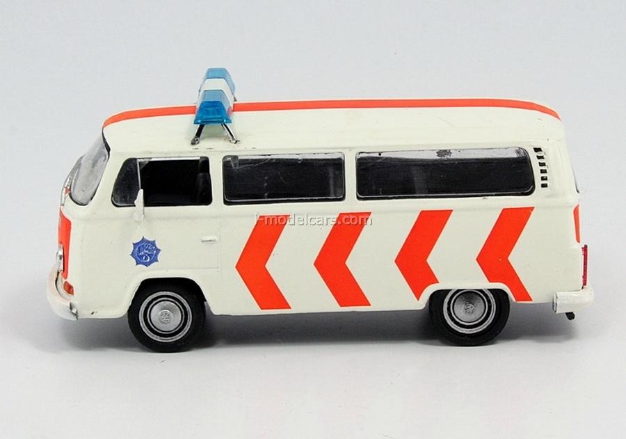VW Transporter T2 Police Netherlands 1:43 DeAgostini World's Police Car #17