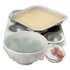 Силиконовые крышки для посуды (5 шт)