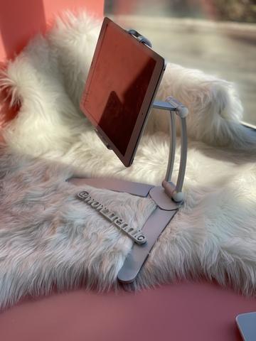 Подставка для телефона/планшета Rock 4,5-10,5'' /white/