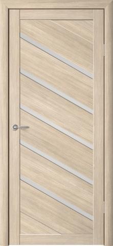 Дверь Фрегат ALBERO Сингапур-5 , стекло матовое, цвет лиственница мокко, остекленная