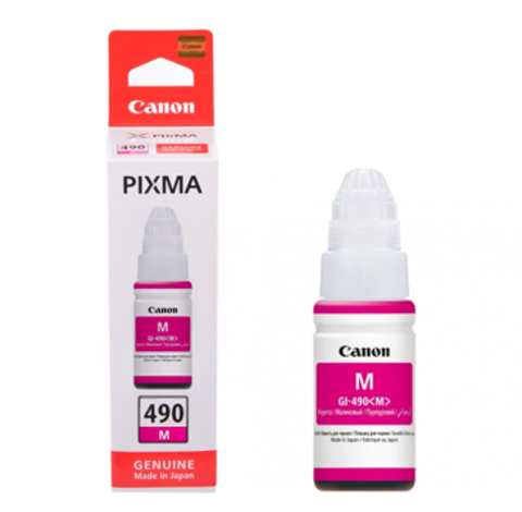 Картридж Canon GI-490 M/0665C001