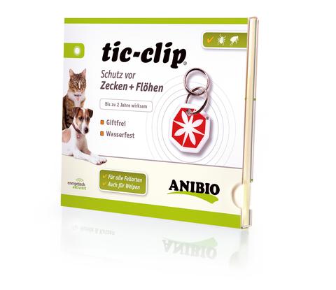 Противопаразитарный медальон tic-clip