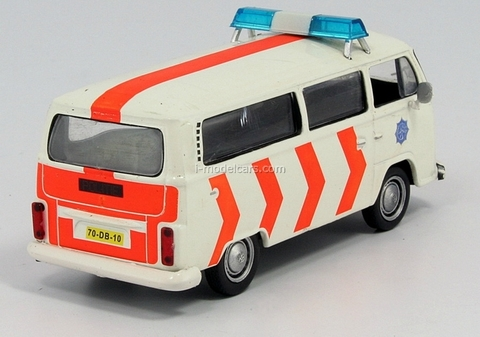 Volkswagen VW Transporter T2 Netherlands 1:43 DeAgostini World's Police Car #17
