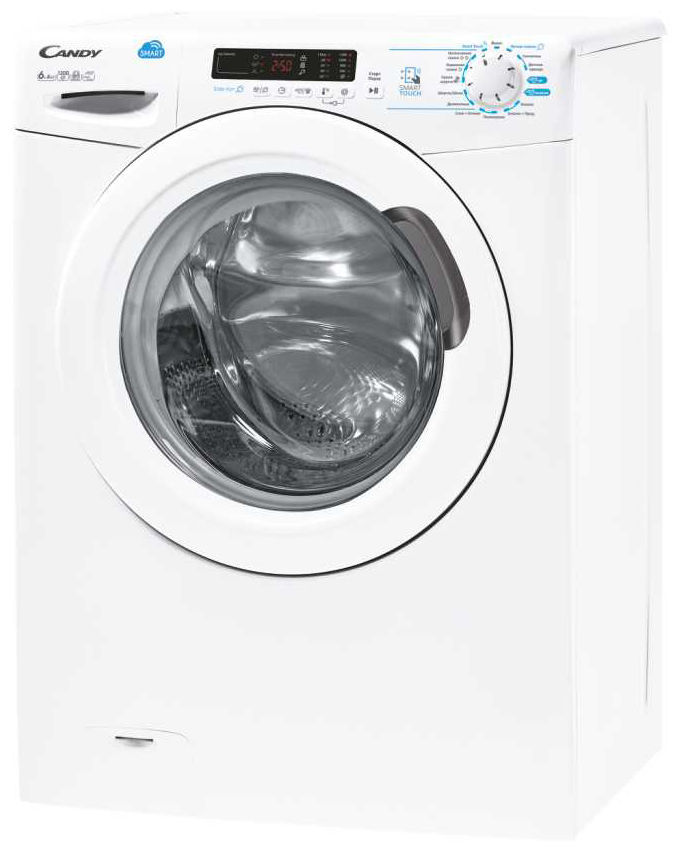 Узкая стиральная машина с сушкой Candy Smart CSWS40 364D/2-07 фото