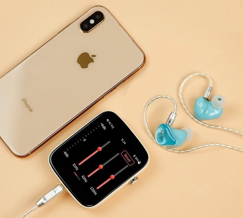 Shanling Q1 turquoise blue, портативный аудиоплеер