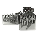 ZIPPO Classic Brushed Chrome Dragon 28969