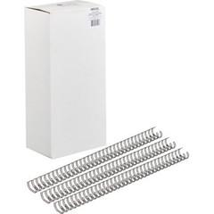 Пружины для переплета металлические ProMega Office 14,3мм черные100шт/уп.