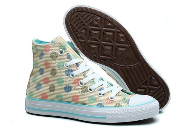 CONVERSE CHUCK TAYLOR ALL STAR HIGH MULTI COLOR POLKA (014)