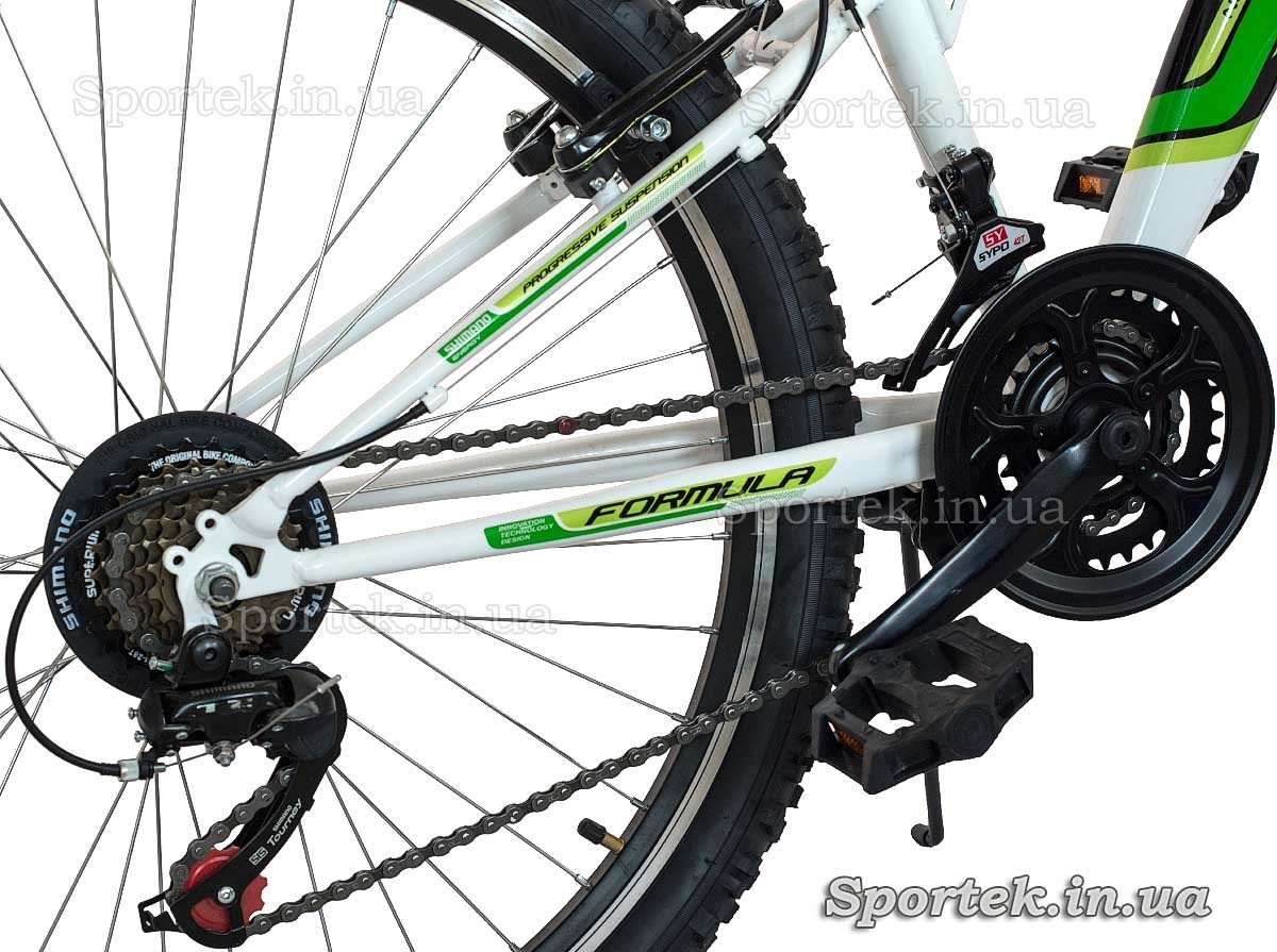 Трансмиссия  горного универсального велосипеда Formula Kolt 2015 (Формула Кольт)