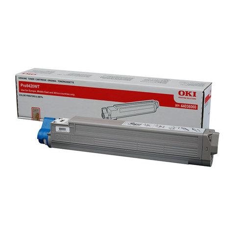 OKI TONER-C-Pro8432WT -  Тонер-картридж голубой для OKI Pro8432WT. Ресурс 10000 страниц (46606507)