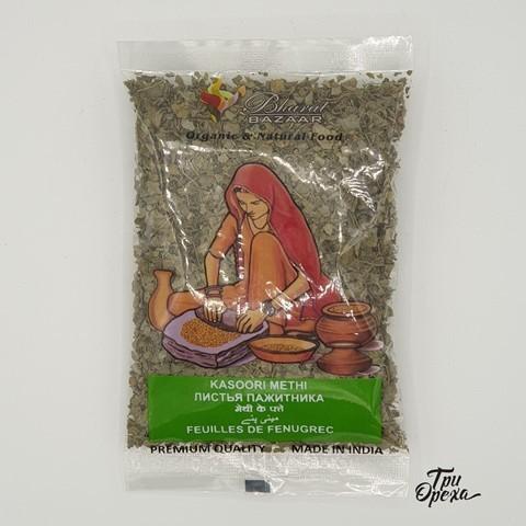 Листья Пажитника Bharat Bazaar, 25 гр