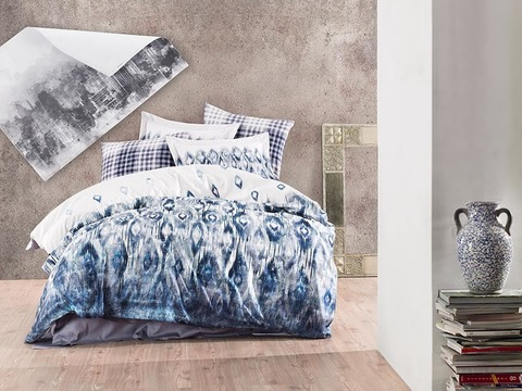 Комплект постельного белья DANTELA VITA Сатин Печатный 2 спальное (Евро) OCTIVIA