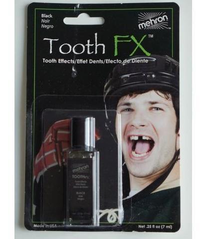 Эмаль для зубов черная 0,25oz
