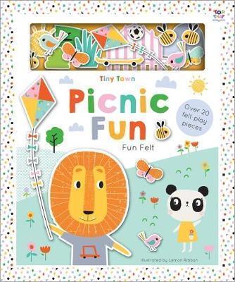 Kitab Tiny Town Picnic Fun | Joshua George