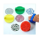 Набор резиновых штампов для творчества, 4 шт. 1