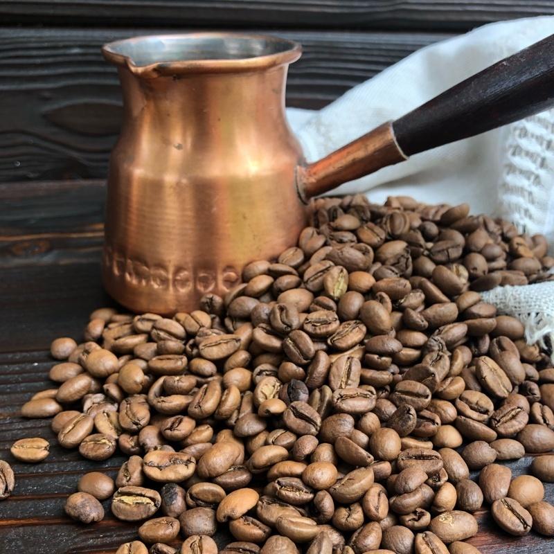 Фотография Кофе свежеобжаренный в зернах Бразилия Игуасу, 250 г купить в магазине Афлора