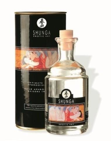 Возбуждающее массажное масло c ароматом ванили - 100 мл.