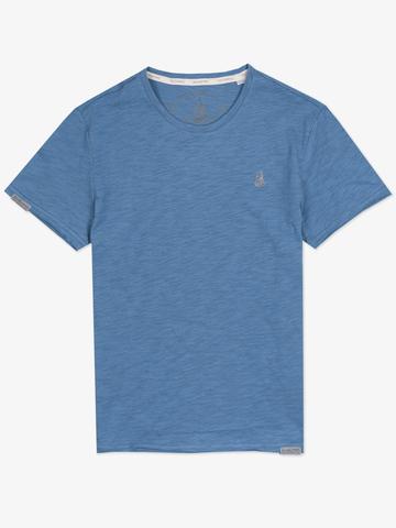 Мужская футболка «Великоросс» тёмно-синего цвета