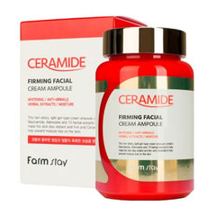 FarmStay Ceramide Firming Facila Cream Ampoule - Крем ампульный с керамидами