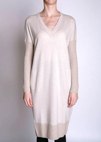 Платье из шерсти и шелка PESERICO