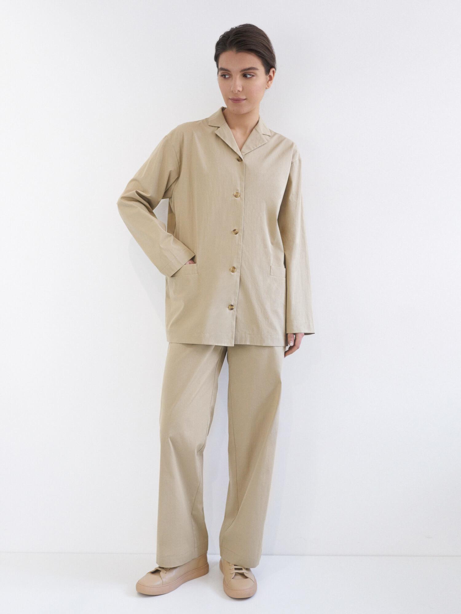 Костюм Jacklin в пижамном стиле