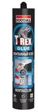 Монтажный клей Soudal T-REX (WB BLUE) Прозрачный  310 г (12шт/кор)