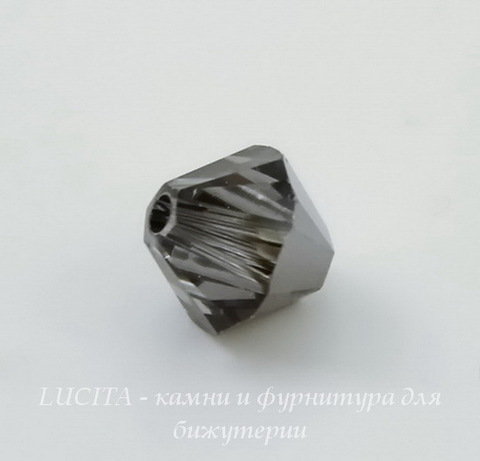 5328 Бусина - биконус Сваровски Crystal Silver Night 6 мм, 5 штук (large_import_files_c0_c02de301874e11e3bb78001e676f3543_a1025866588c43119c86652818da2d10)