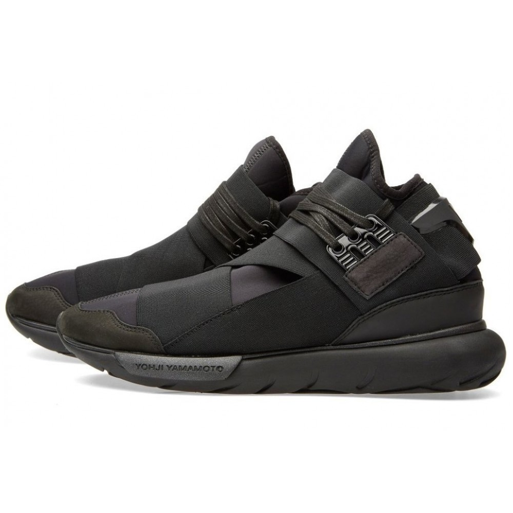 Adidas Y-3 Qasa Racer High (Triple Black) (001)