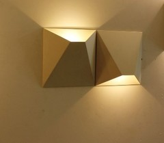 бра CUBE double wall lamp by Vibia style