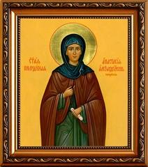 Анастасия Патрикия Преподобная Александрийская пустынница. Икона на холсте.