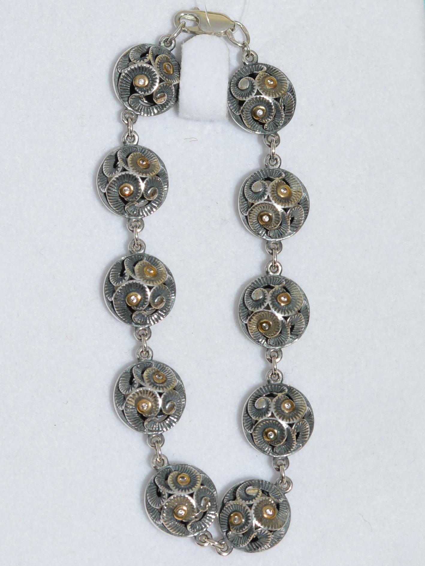 0700234 (серебряный браслет)