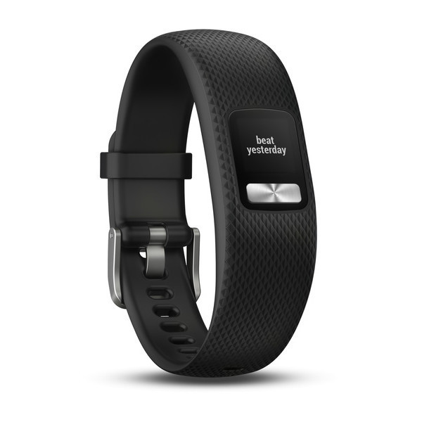 Фитнес-браслет Garmin Vivofit 4 водонепроницаемый (черный большого размера)