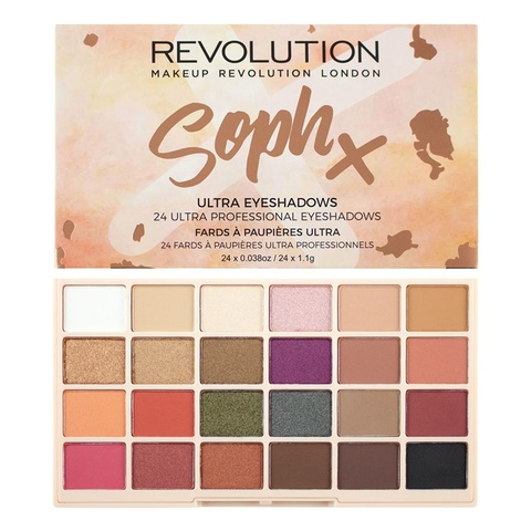 Палетка теней Makeup Revolution SophX Ultra Eyeshadows