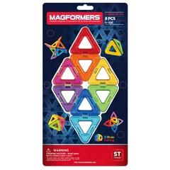 MAGFORMERS Магнитный конструктор Треугольники 8 (63085)