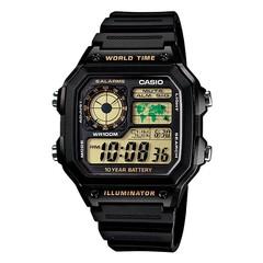 Японские наручные часы Casio AE-1200WH-1B
