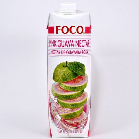 Нектар розовой гуавы Foco, 1л