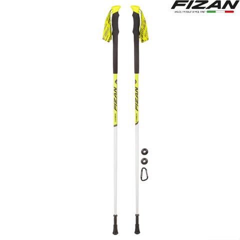 Скандинавские палки Fizan Vertical TrailRunning Carbon 80% Италия