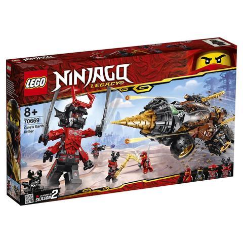 LEGO Ninjago: Земляной бур Коула 70669 — Cole's Earth Driller — Лего Ниндзяго