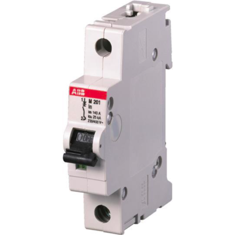 Автоматический выключатель 1-полюсный 1,6 A, тип  -, 12,5 кА M201 1,6A. ABB. 2CDA281799R0971