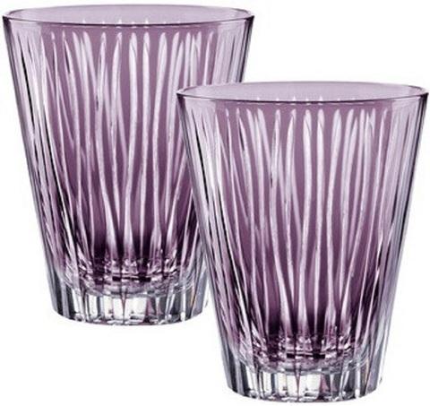 Набор из 2-х бокалов Water Violet 310 мл артикул 88883. Серия Sixties Lines