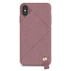 Чехол Moshi Altra с ремешком на запястье для iPhone XS Max. Материал пластик. Цвет розовый.