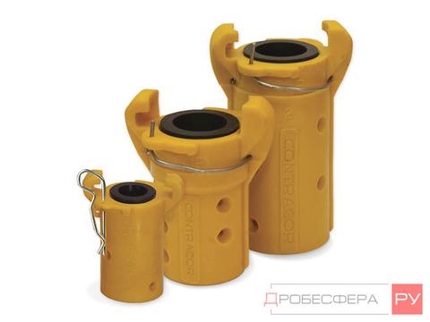 Сцепление для пескоструйных рукавов 13х27 мм CQP-0 пластик