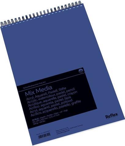 Альбом для смешанных техник Mix Media 300г/м2 29.7*42см 30л спираль по короткой стороне