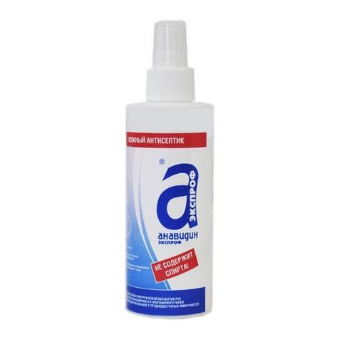Кожный антисептик Анавидин-экспроф, 200 мл, спрей
