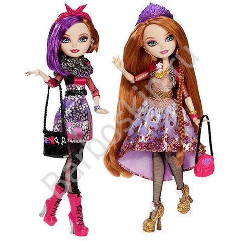 Набор кукол Ever After High Холли О хейр и Поппи О хейр - базовые