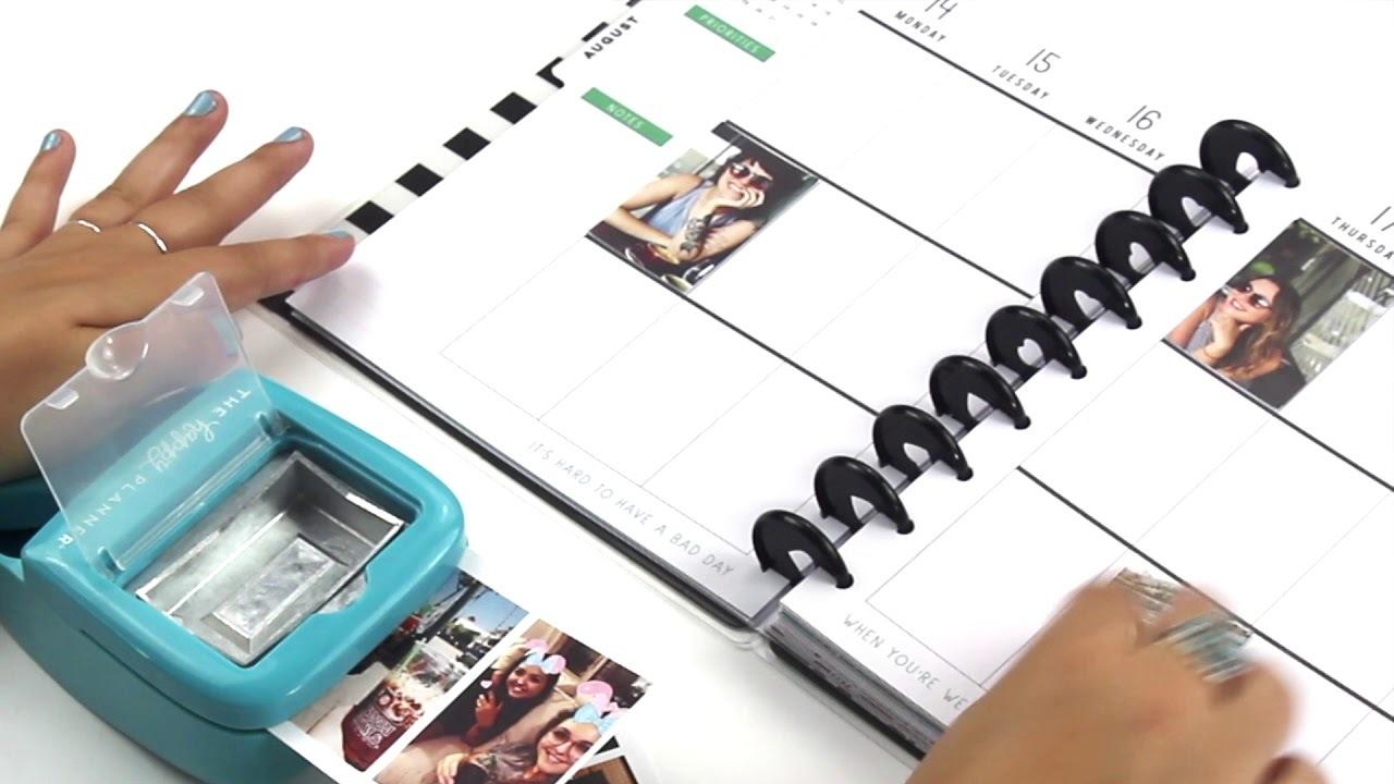 Дырокол для изготовления карточек в планер Happy Planner Classic Punch