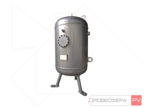 Ресивер для компрессора РВ 50/40 из нержавейки вертикальный